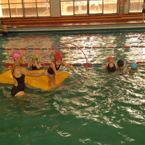 Clase abierta de natación